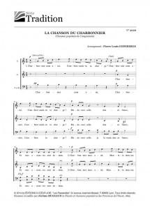 LA CHANSON DU CHARBONNIER (éditions A Coeur Joie)